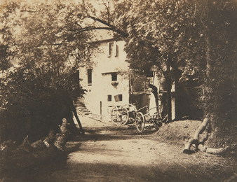 André Giroux, 'Untitled (rural scene with carts),' ca. 1854, Phillips: The Odyssey of Collecting
