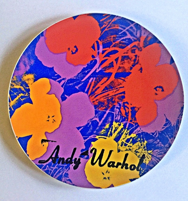 , 'Flowers, Rare Limited Edition Plate Signed and Numbered Porcelain Plate,' ca. 1995, Alpha 137 Gallery