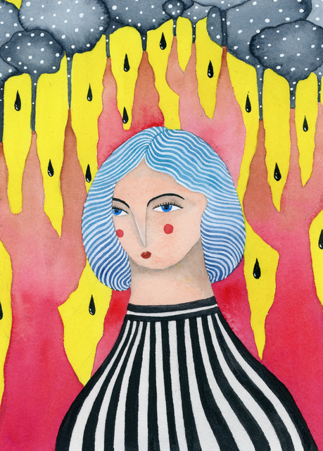 , 'Dina,' , Fe Gallery