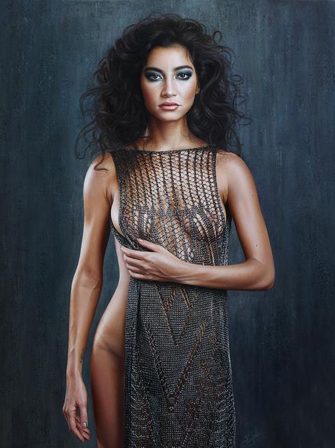 Christiane Vleugels, 'Armored', 2019, Painting, Oil on canvas, Art Center Horus