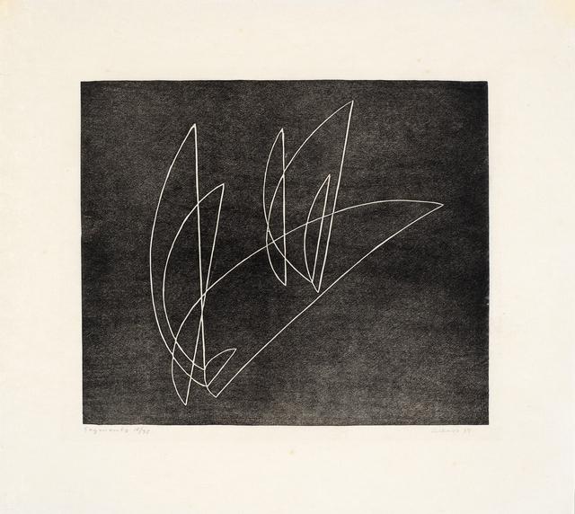 , 'Segments,' 1934, Cristea Roberts Gallery