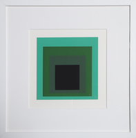 Josef Albers, Homage to the Square from Formulation: Articulation