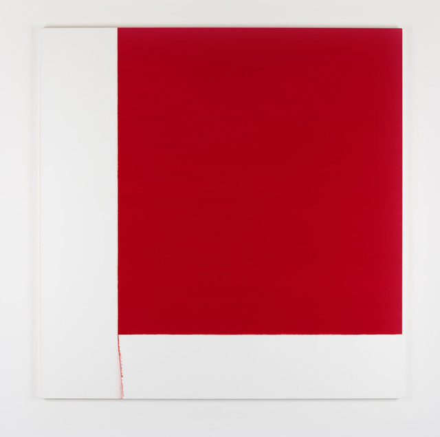 , 'Exposed Painting Cadmium Deep,' 2017, i8 Gallery