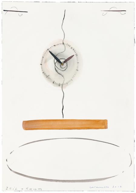 , 'Zeit + Raum,' 2012, Galerie nächst St. Stephan Rosemarie Schwarzwälder