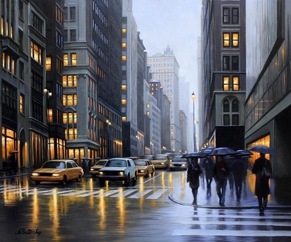 , 'Midtown Manhattan,' , LaMantia Fine Art Inc.