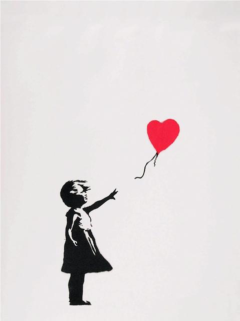 Banksy, 'Girl With Balloon', 2004, Gormleys Fine Art