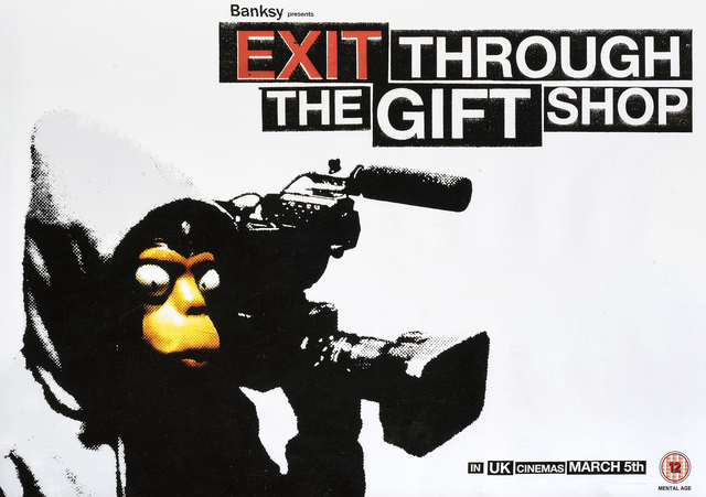 Banksy, 'Exit Through The Gift Shop', 2010, Tate Ward Auctions