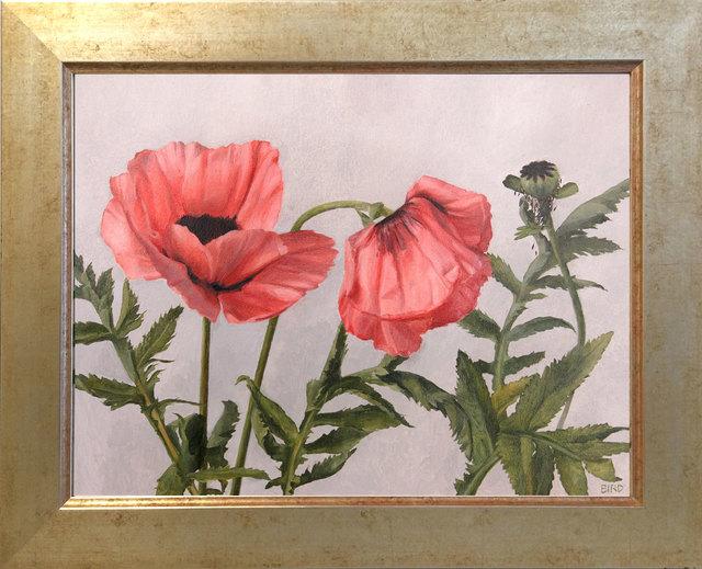 , 'Poppies,' 2017, ARCADIA CONTEMPORARY