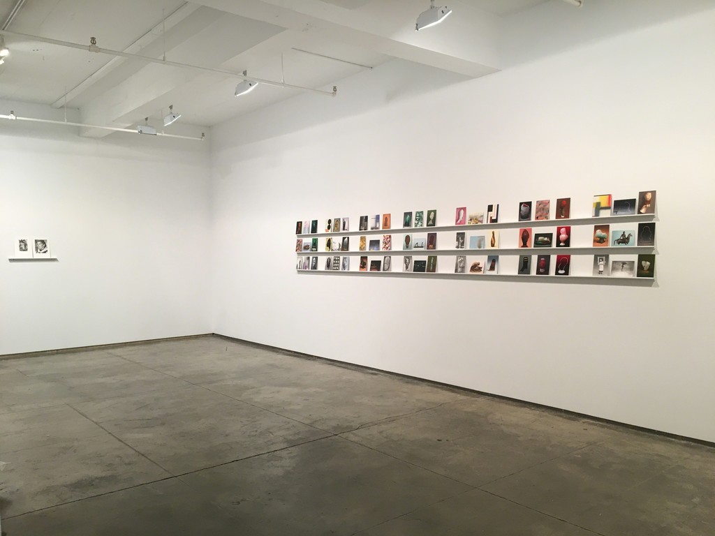 Martí Cormand, Postcards to AZ, 2016, installation view