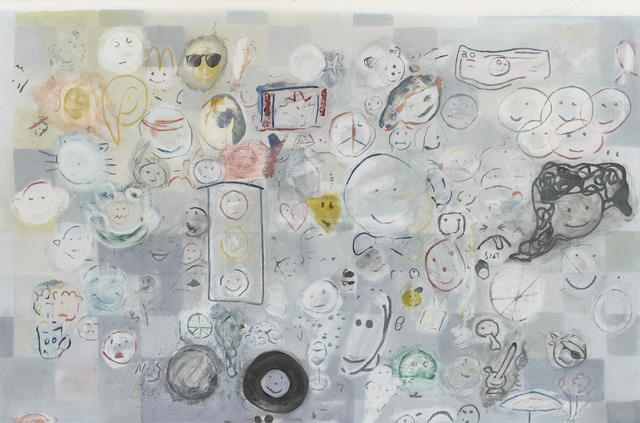 , 'Nate's Smiley Face Painting,' 2010-2012, Museum Dhondt-Dhaenens