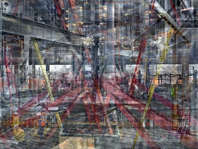 , 'W.T.C: Concrete Abstract #13,' 2011-2013, Julie M Toronto