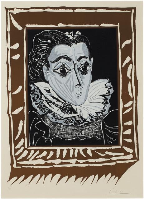 Pablo Picasso, 'La Dame à la collerette', 1962, Christie's