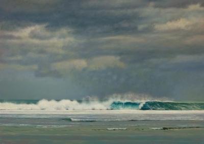, 'Water Breaking on the Reef,' 2018, Gallery Victor Armendariz