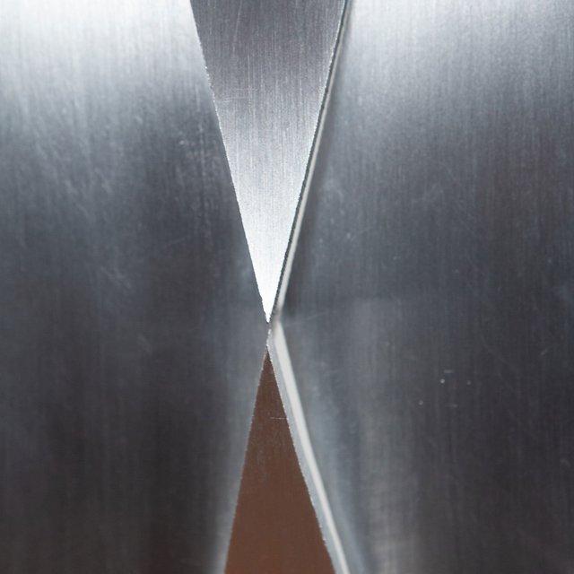 Kosso Eloul, 'Istorzo', 1989, Sculpture, Brushed aluminium on acrylic base, Caviar20