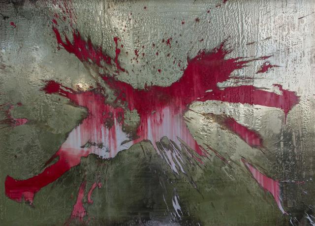 , 'Plasmasurfen und Red Titanium Sunflower,' 2016, SCHUEBBE INC.