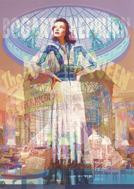Stuart McAlpine Miller, 'Katharine Hepburn: Taking Centre Stage', 2018, Castle Fine Art