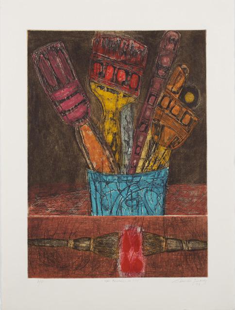 Juarez-Castillo Claudio, 'Mis Penciles de Hoy', 1993, 5 + 5 Gallery