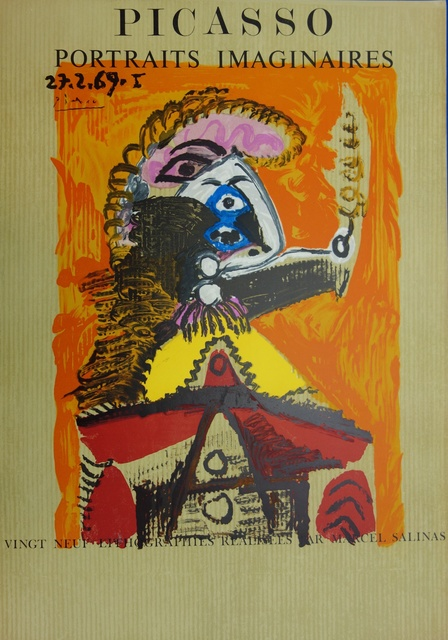 Pablo Picasso, 'Imaginary Portrait, Man with a sword', 1971, Plazzart