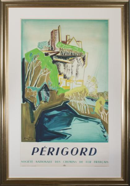 , 'Perigord (Societe Nationale des Chemins de Fer Francais),' 1948, David Barnett Gallery