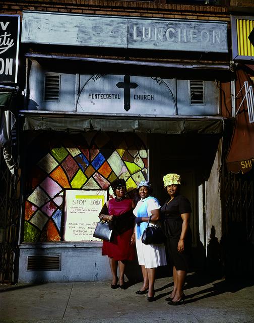 Evelyn Hofer, 'Harlem Church, New York', 1964, ROSEGALLERY