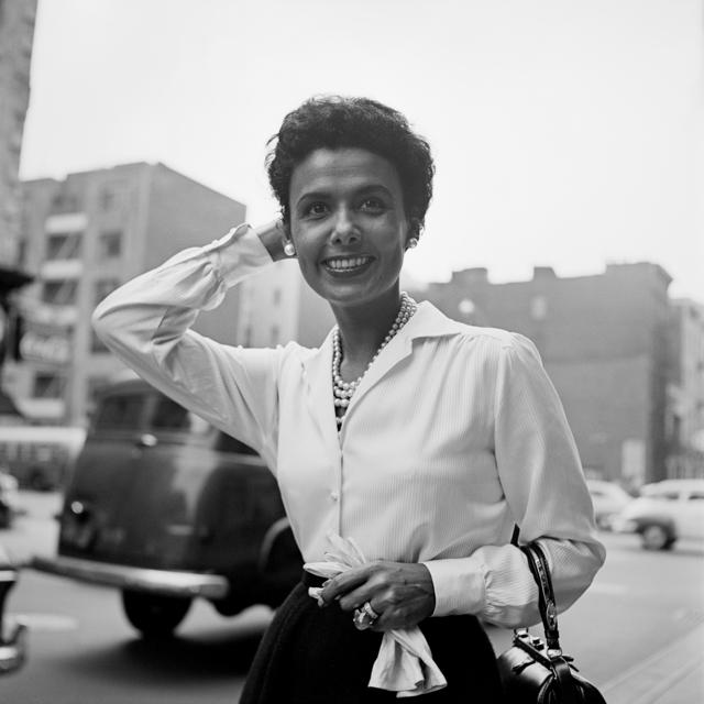 , 'Lena Horne, New York,' Sept. 30-1954, Les Douches La Galerie