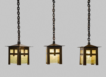 Set of Three Lanterns, Model No. 673