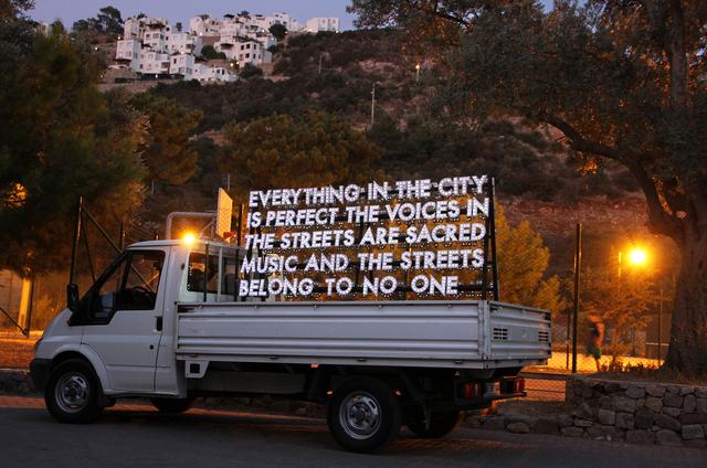 Robert Montgomery, 'Istanbul', 2016, Cob