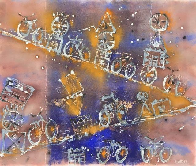 , 'Sueño con Bicicletas,' 2017, Aura Galerias