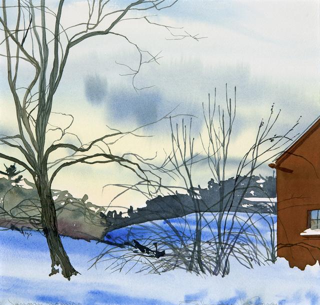 , 'January Morning,' , Dowling Walsh