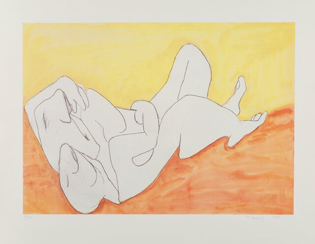 Maria Lassnig, 'Fraternity', 2008, Print, Offset lithograph in colors on Somerset paper, Heritage Auctions
