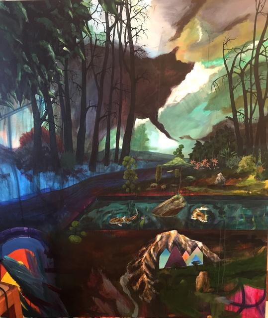 , 'En jij dacht dat je de zon kon zien?!,' 2018, Nathalia Tsala Gallery