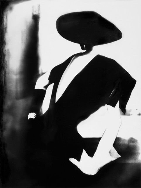, ' Black - with One White Glove, Barbara Mullen, dress by Christian Dior, New York, Harper's Bazaar,' 1950, Edwynn Houk Gallery