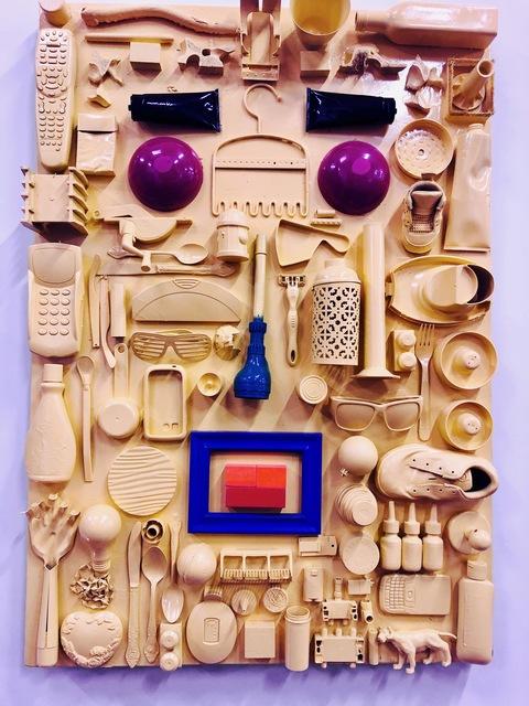 , 'Yellow Face,' 2019, design art concepts