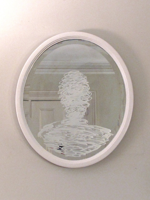 , 'Mirror #1,' 2014, Edward Hopper House