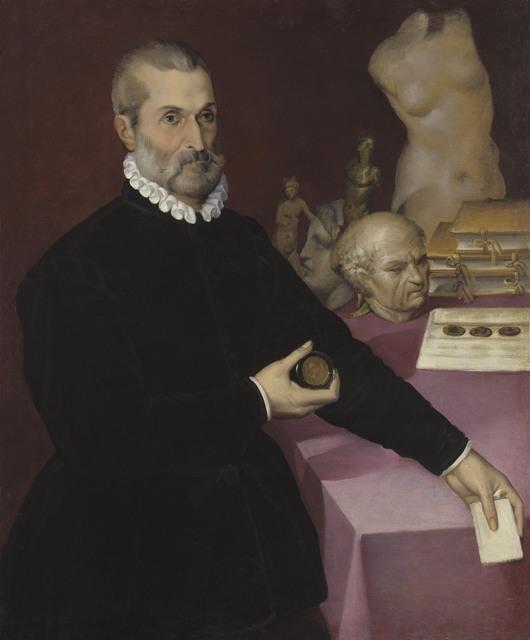 , 'Portrait of a Collector,' 16th century, Robilant + Voena