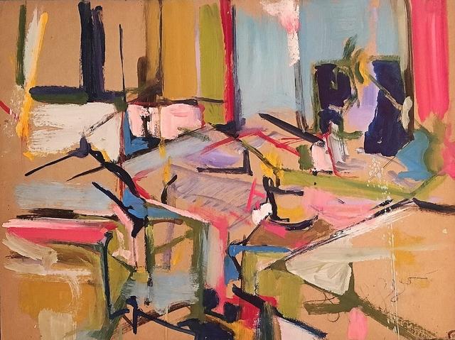 Diana Kurz, 'Abstracted Interior', ca. 1959, Lawrence Fine Art