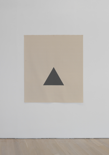 , 'Hanging Canvas Isometric Triangle,' 2017, Annely Juda Fine Art