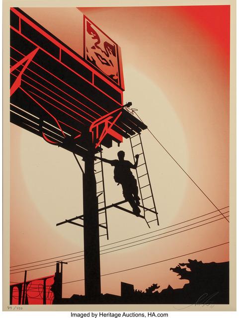 Shepard Fairey (OBEY), 'Bayshore Billboard, from Billboard series', 2011, Heritage Auctions