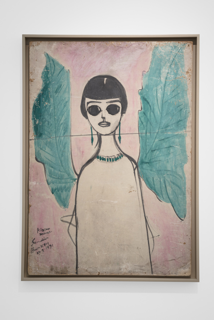 , '(Angel with Green Wings) Zeliha Berksoy ,' 1991, Vigo Gallery