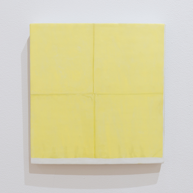 , 'Yellow Napkin,' 2015, Kruger Gallery