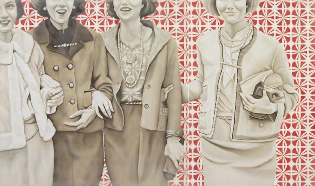 , 'Society Girls,' 2016, Canfin Gallery