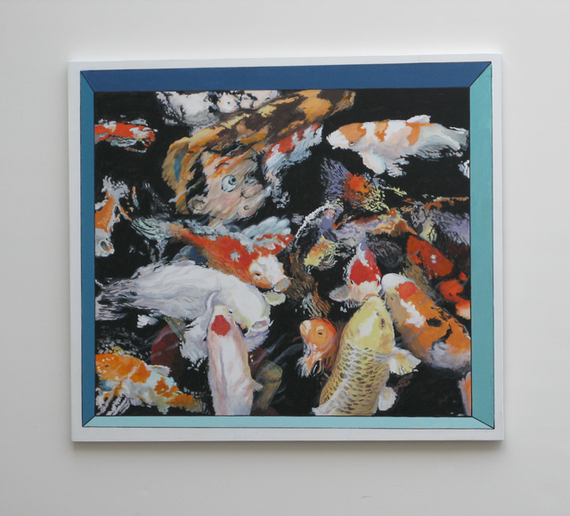 Ralph Allen Massey, 'Narcissus Avatar ', 2017, Painting, Acrylic on board, bG Gallery