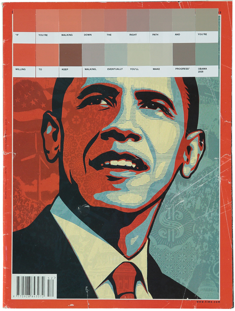 , 'Obama, Time 2009,' 2017, Lawrence Alkin Gallery