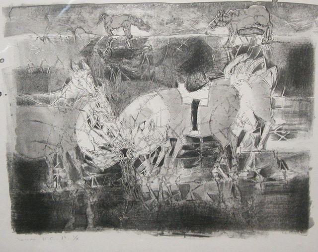 , 'Reflejos de Caballos,' 1984, Stern Fine Art