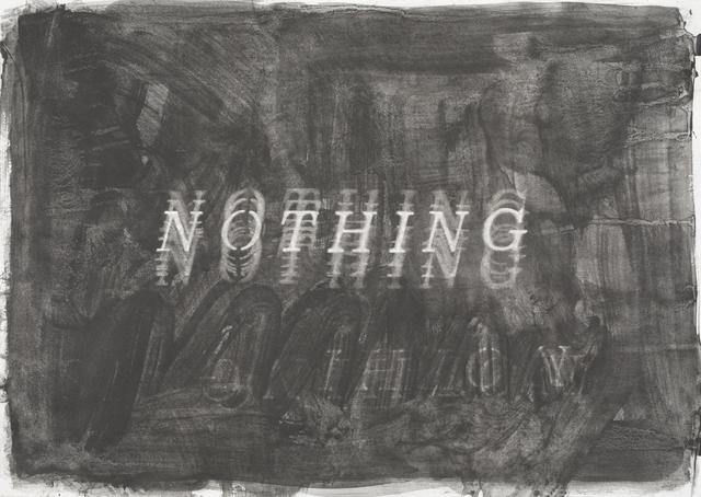 , 'Nothing,' 2019, Barnard
