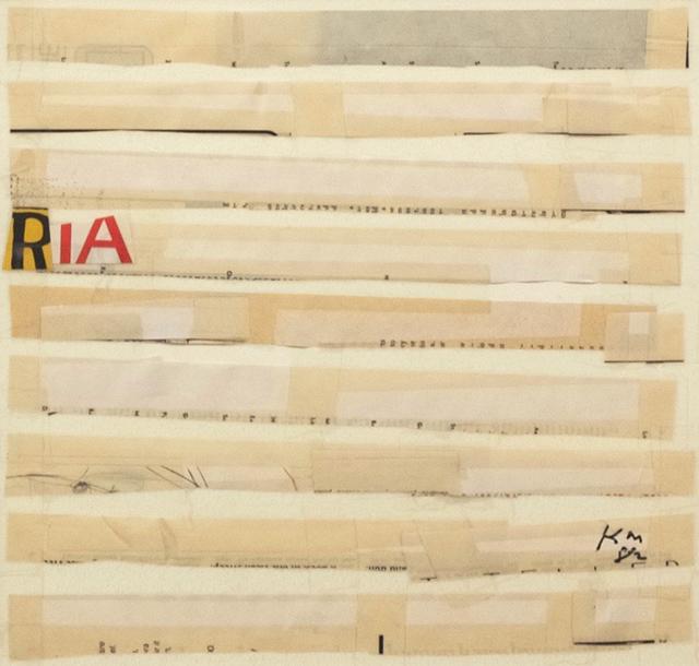 , '#5 RIA,' 1982, C. Grimaldis Gallery