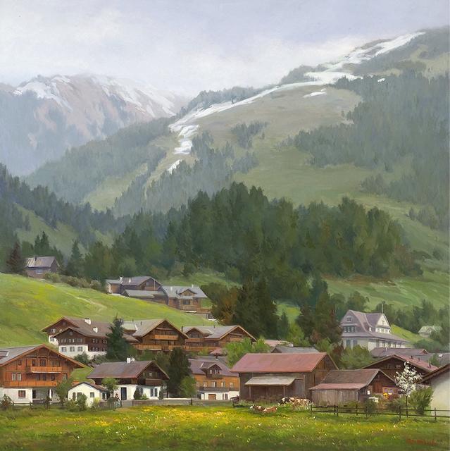 John Pototschnik, 'Beneath the Noble Alps', 2017, Abend Gallery