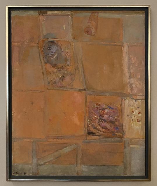 Pierre Lesieur, 'Composition rose', 1976, Painting, Oil on canvas, Artioli Findlay