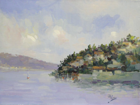 , 'Blue Bay,' , The Loft Fine Art