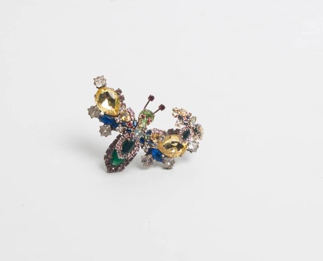 , 'Butterfly brooch,' 2008, Caroline Van Hoek